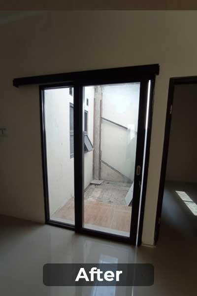 Pintu Aluminium Telaga Sakinah